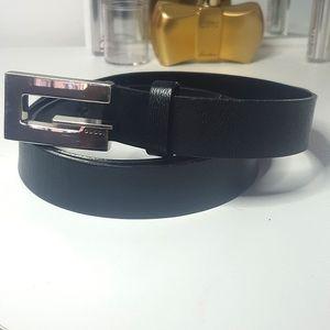 Vintage Gucci Men's leather belt
